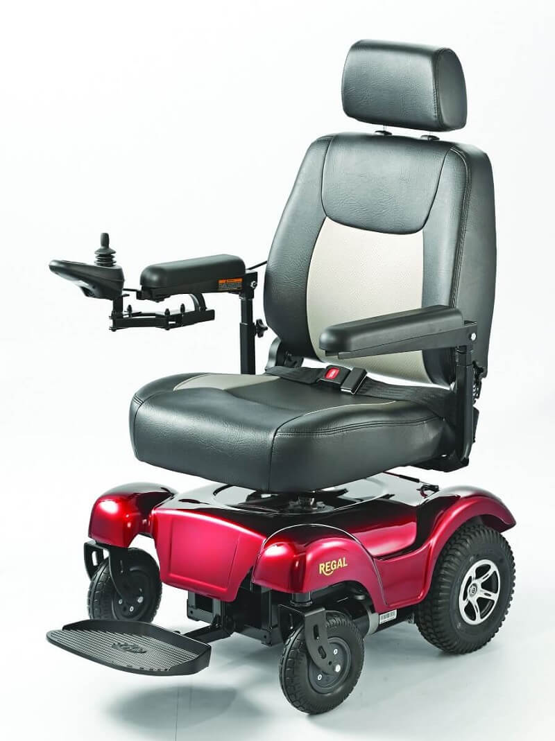 Merits Health P310 Regal Power Wheelchair - P310 Regal - AtoZ Medical  Equipment