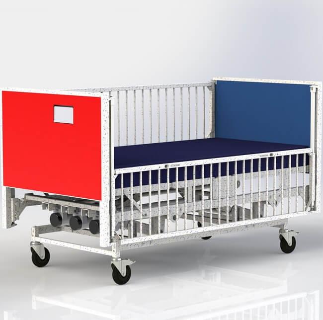 Electric Pediatric Hospital Bed