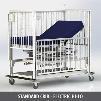 Pediatric Electric Crib