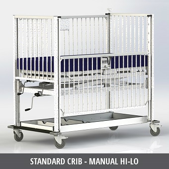 Pediatric Manual Crib