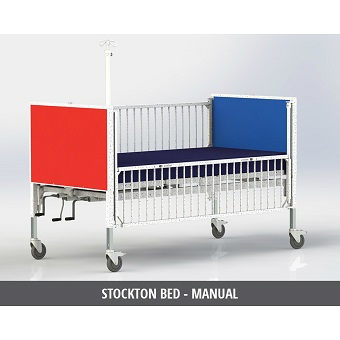 Pediatric Hospital Bed Manual Hi-Lo